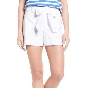 Draper James White Shorts Size 12 NEW  summer